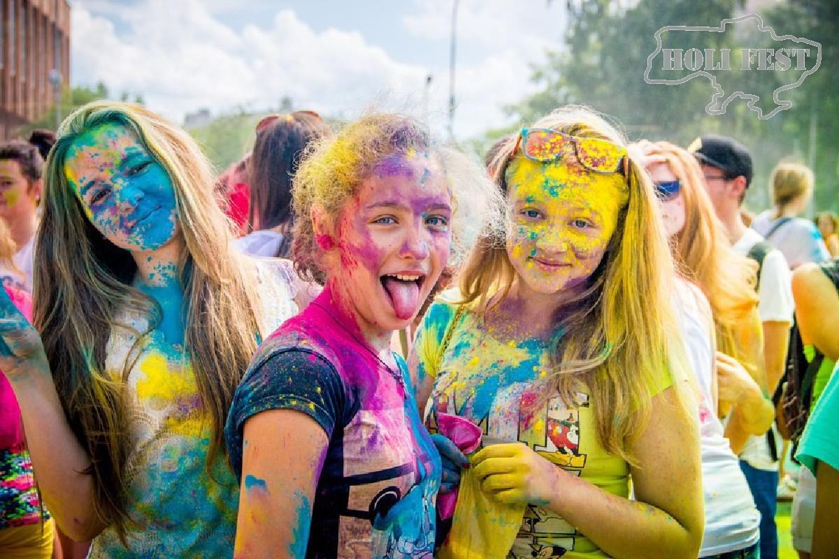 Holi Fest на День Киева