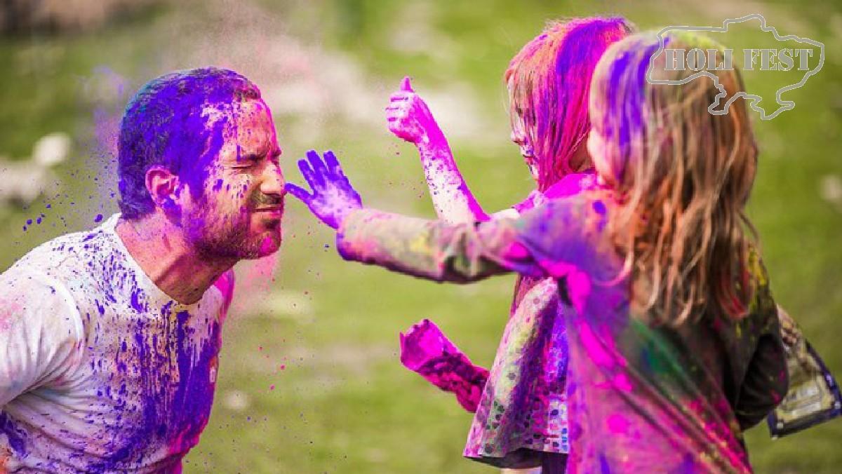 Holi Fest до Дня захисту дітей! Подаруй дітям незабутнє свято.