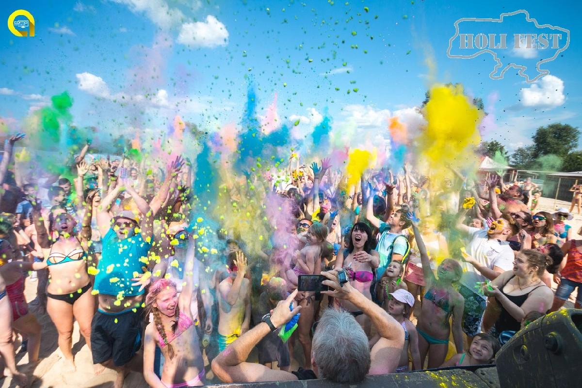 Holi Fest с красками Холи на Ивана Купала!