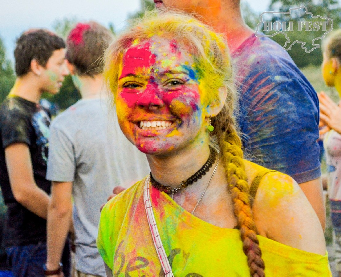 Скорее спеши на яркий Holi Fest в Старобельске!